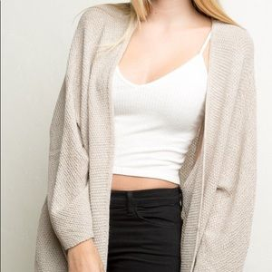 Sweaters - Brandy Melville Oatmeal Cardigan